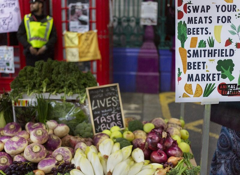 Love and Fruit in the Time of Catastrophe: Animal Rebellion Converts Smithfield MEAT Market into Smithfield BEET Market