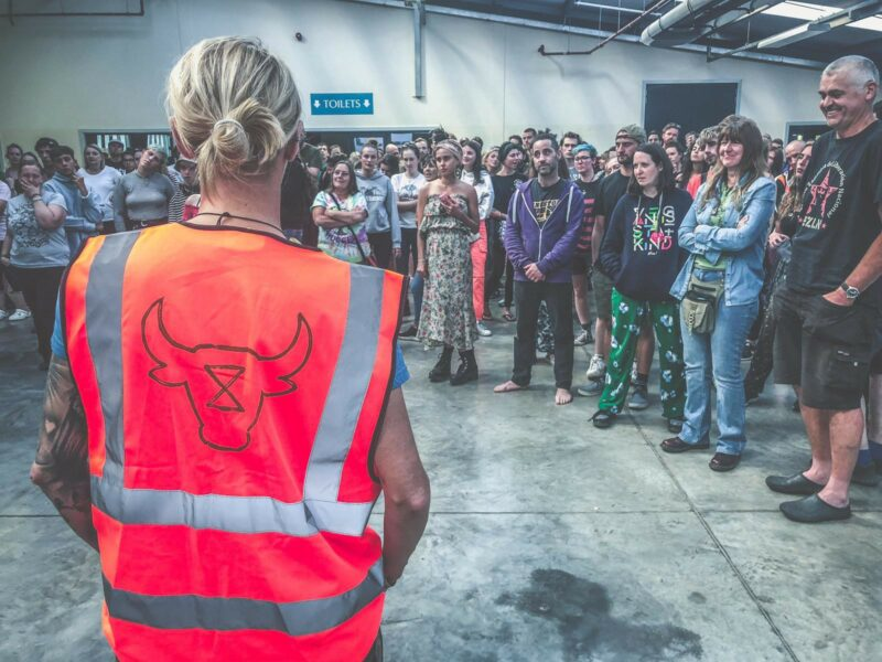 """I'm in. Are you?"" Leigh Venus' Account of Animal Rebellion at Vegan Camp Out 2019"