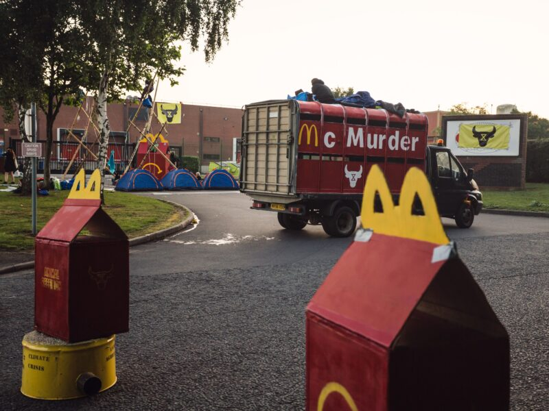 WHY WE OCCUPY MCDONALD'S